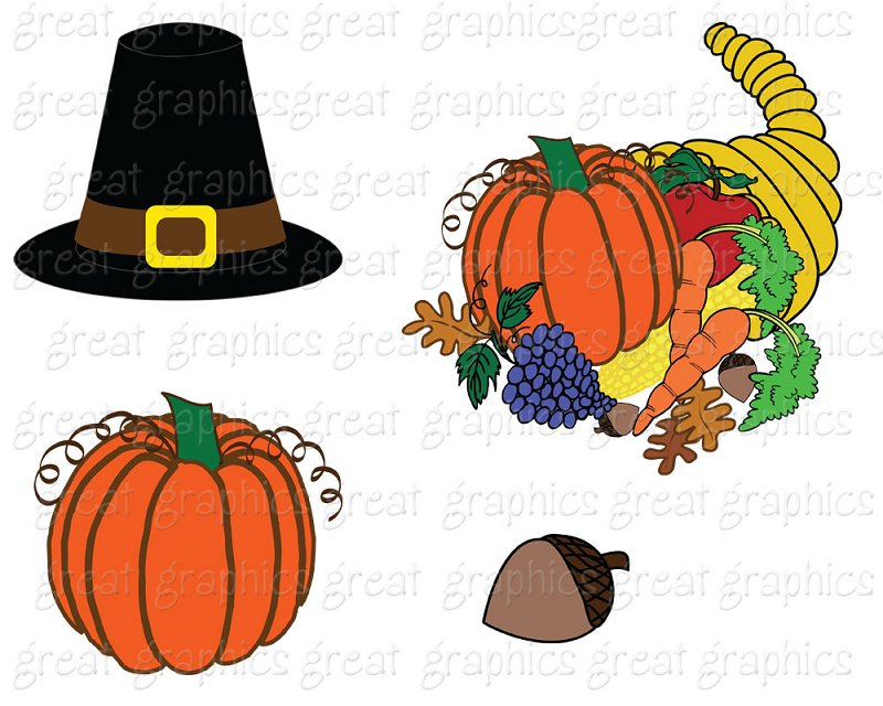 Printable Thanksgiving Clip Art