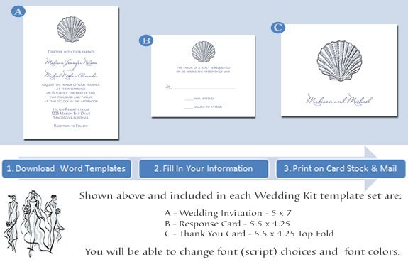 Printable Wedding Invitations Party City