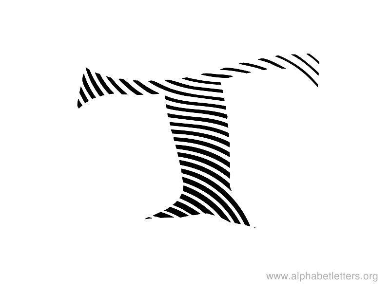 Printable Zebra Print Letters