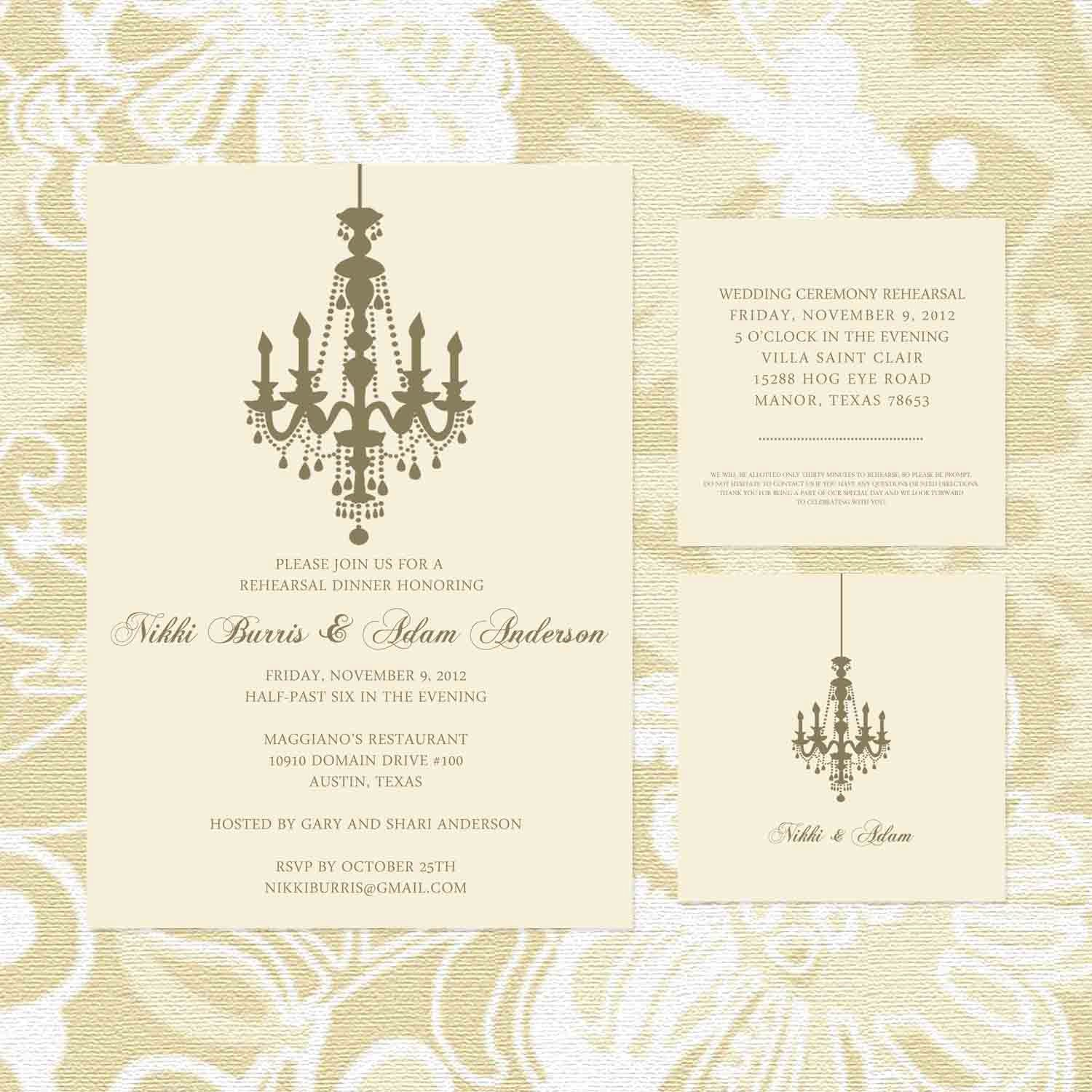 Rehearsal Dinner Invitation Wording Divorced Parents