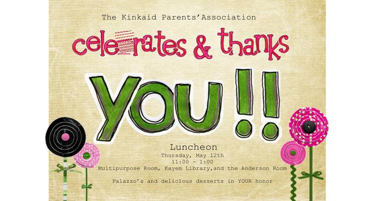 Appreciation Luncheon Invitation