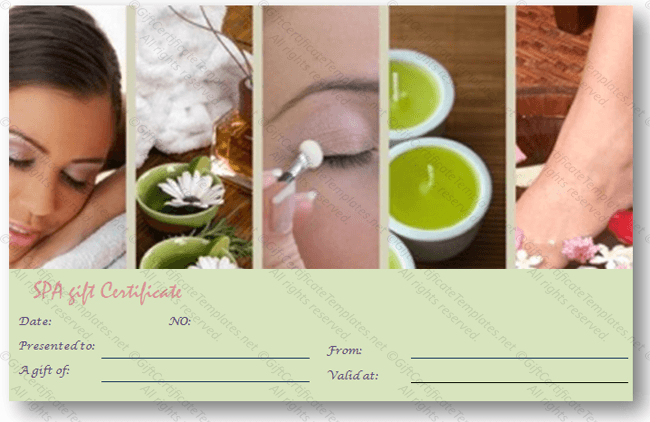 Spa coupon template promotional spa beauty salon flyer template gift certificate templates yelopaper Choice Image