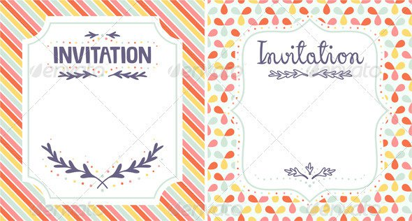 Spiritual Invitations Templates
