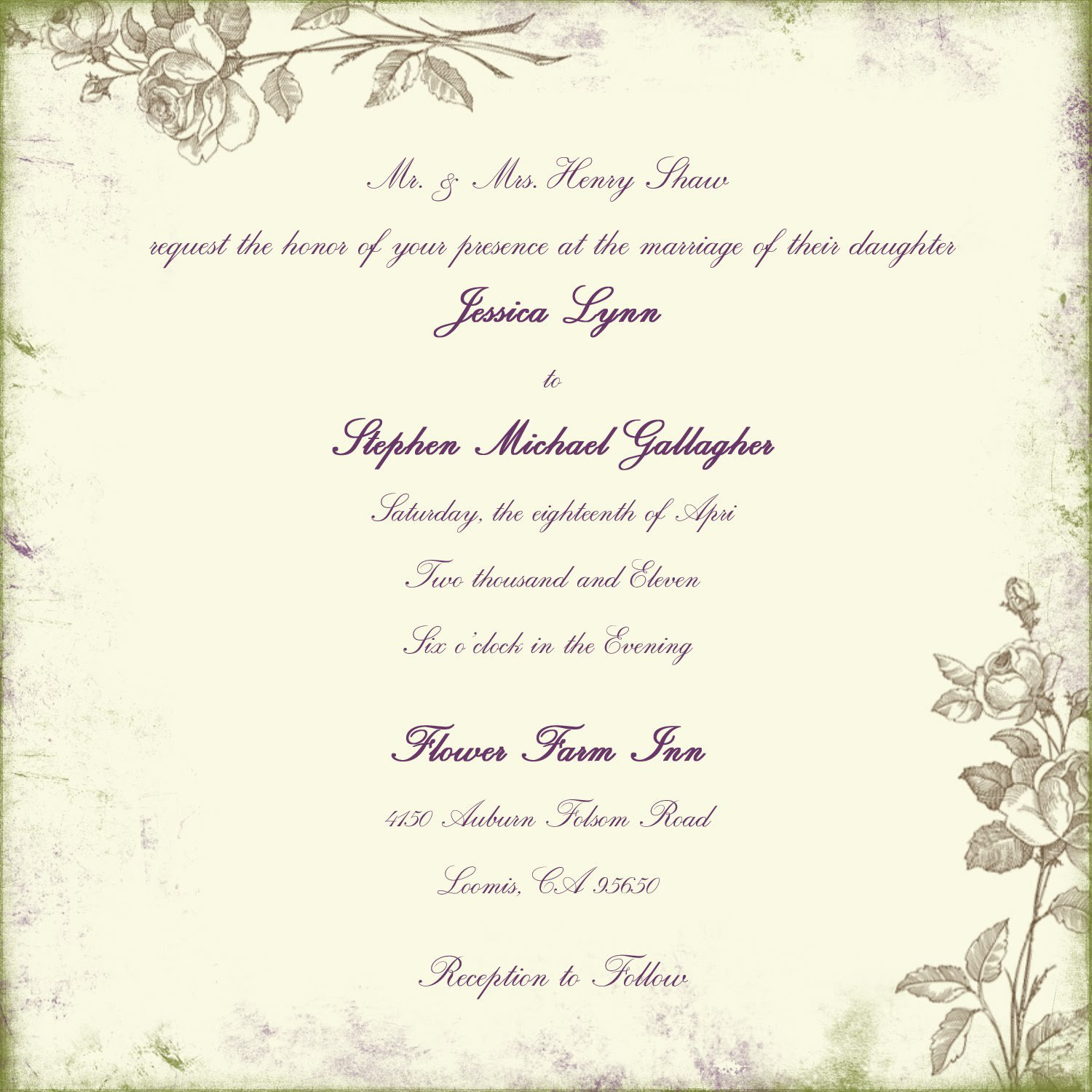 Spiritual Wedding Invitations
