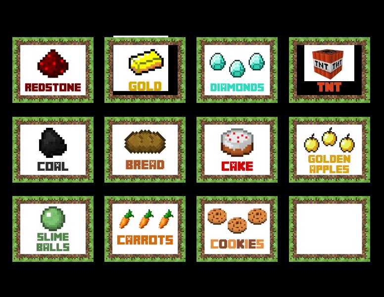 Stampy Minecraft Birthday Invitation