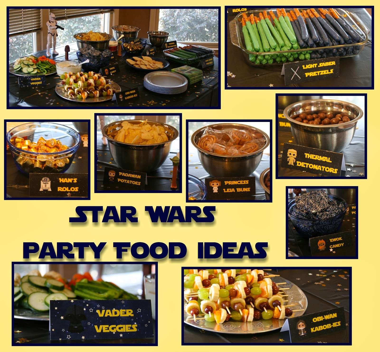 May The Fourth Be With You Party Supplies: Star Wars Birthday Food Ideas