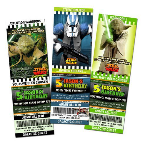 Star Wars Birthday Party Invitations Online