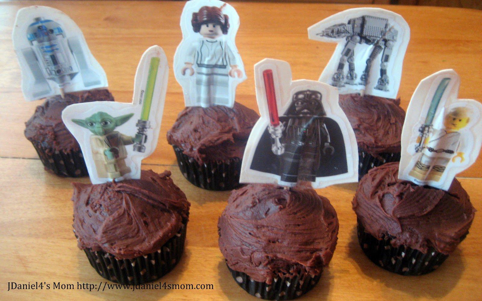 Star Wars Cupcake Toppers Target