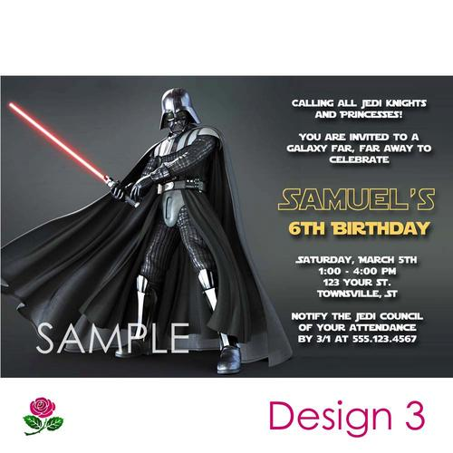 Star Wars Invitation Maker