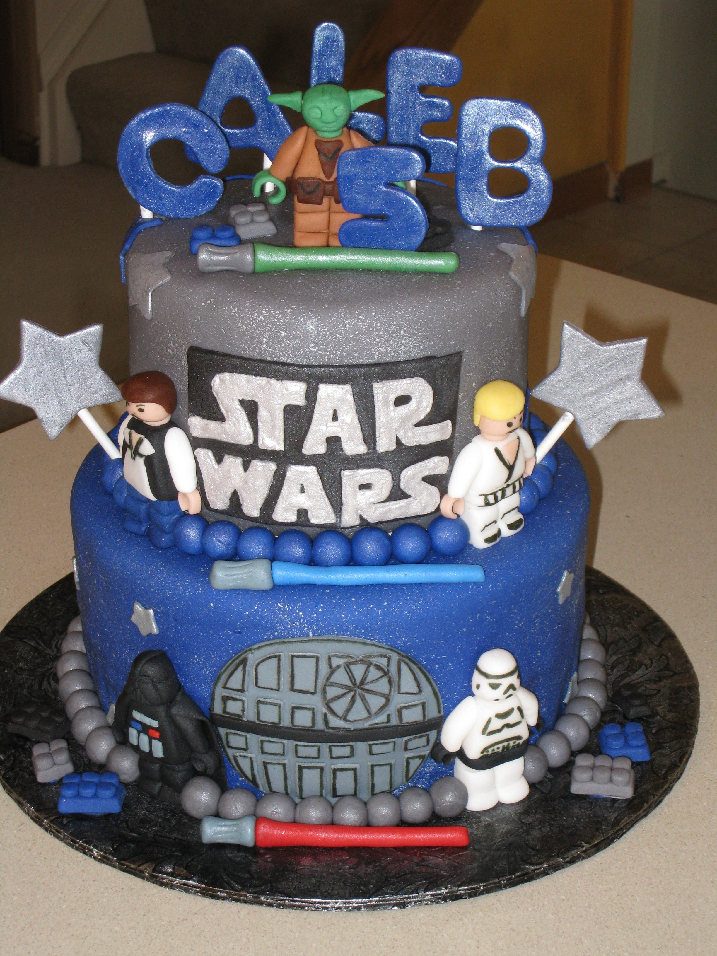 Star Wars Lego Birthday Party Decorations