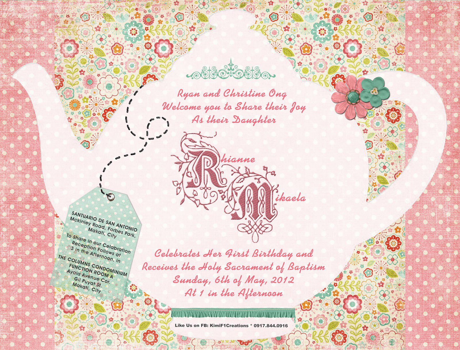 Baby Shower Invitation Templates For Girls