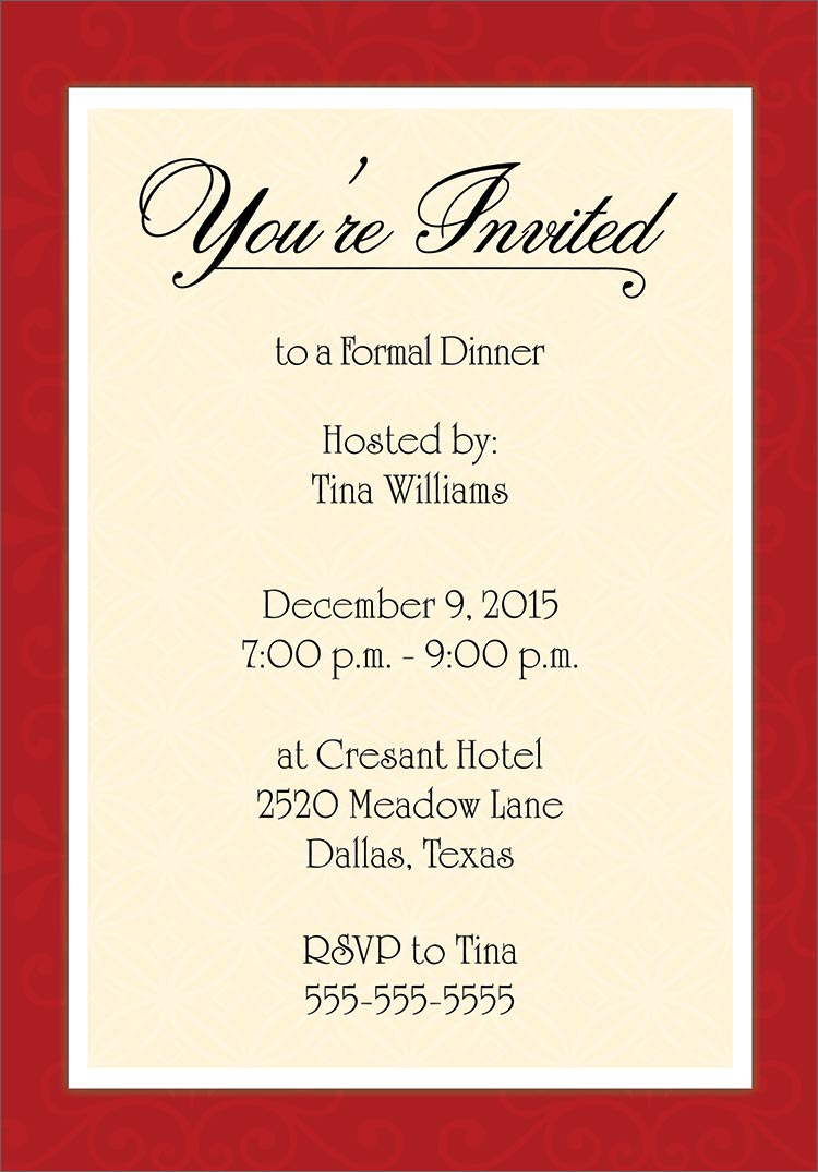 Thanksgiving Party Invitation Templates – Thanksgiving Party Invitation Wording