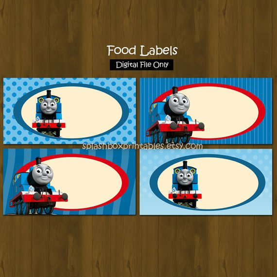 Thomas The Train Birthday Party Printables