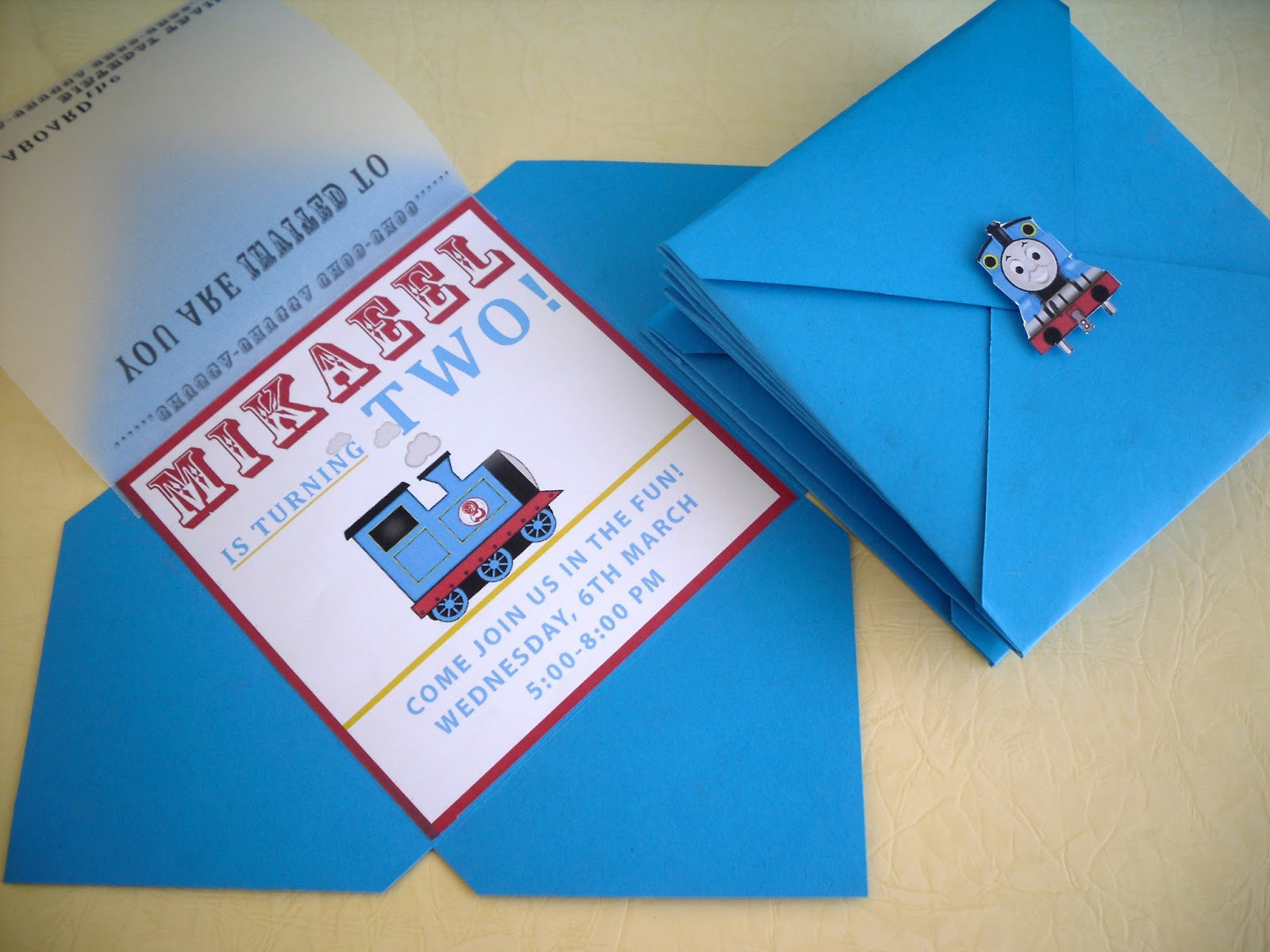 Thomas The Train Birthday Printables