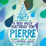 water party invitations printable, Party invitations