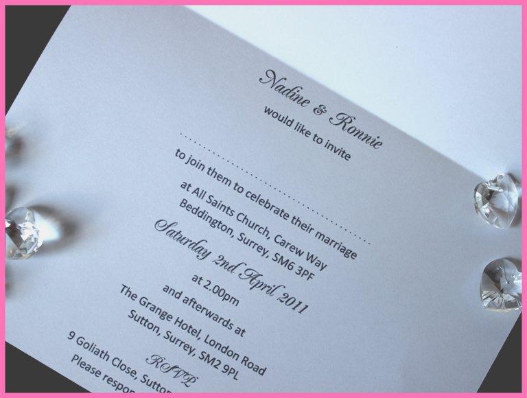 Wedding Invitation Insert Templates Free