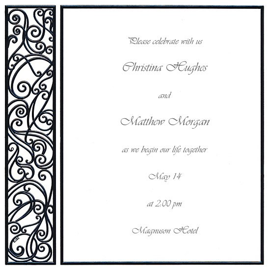 Invitation Templates Blank – Blank Invitation Template