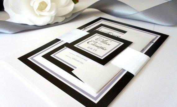 White Blank Classy Invitation
