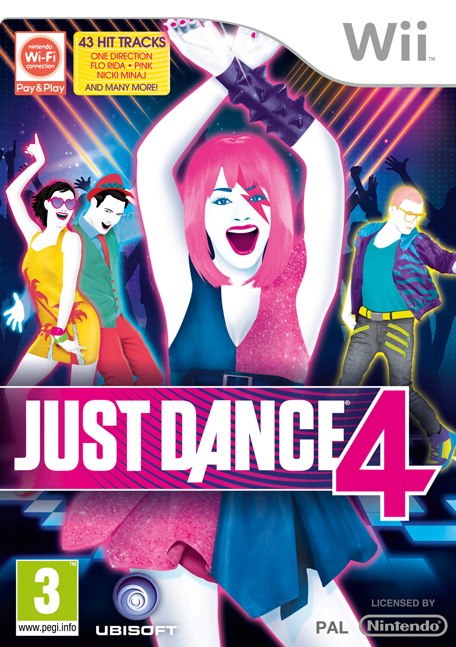 Wii Just Dance Party Invitations