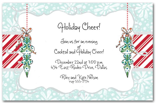 Work Christmas Party Invitations Templates. Christmas Party ...