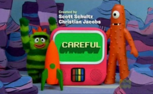 Yo Gabba Gabba Careful Episode