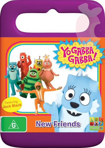 Yo Gabba Gabba New Friends Dvd