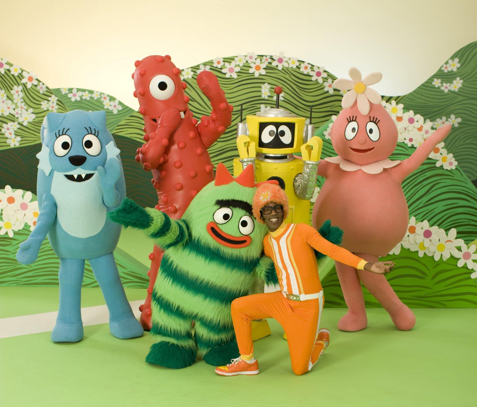 Yo Gabba Gabba Playhouse Disney Channel