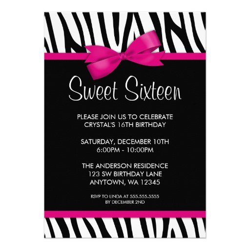 Zebra Baby Shower Invitations Templates Free