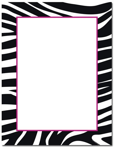 Zebra Print Invitations Free