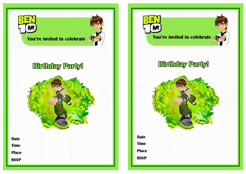 10 Printable Invitations