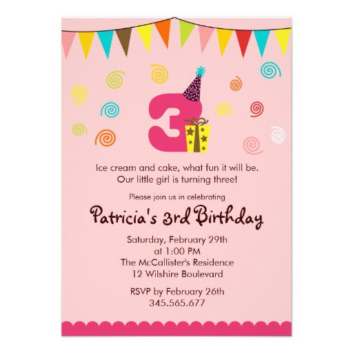 Birthday Invitation For Year Old Girls Orderecigsjuiceinfo - Birthday invitation wording for a one year old