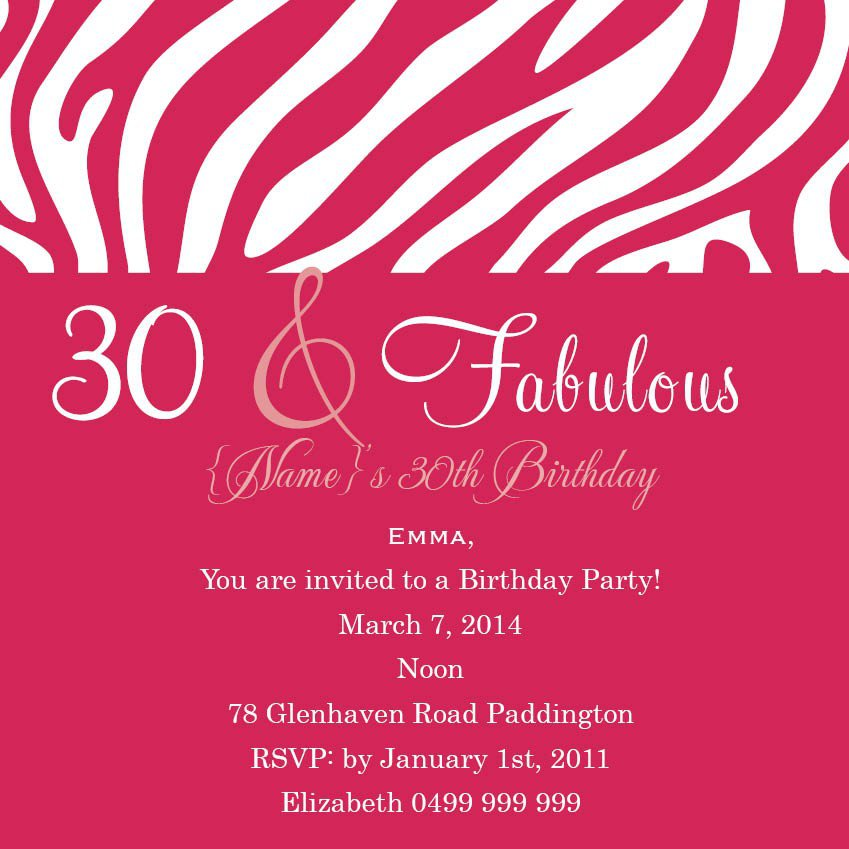 18th Birthday Invitation Wording Samples – Invitation for 18th Birthday