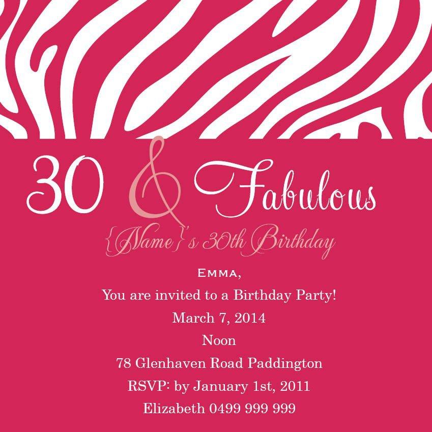 18th Birthday Party Invitation Wording Samples