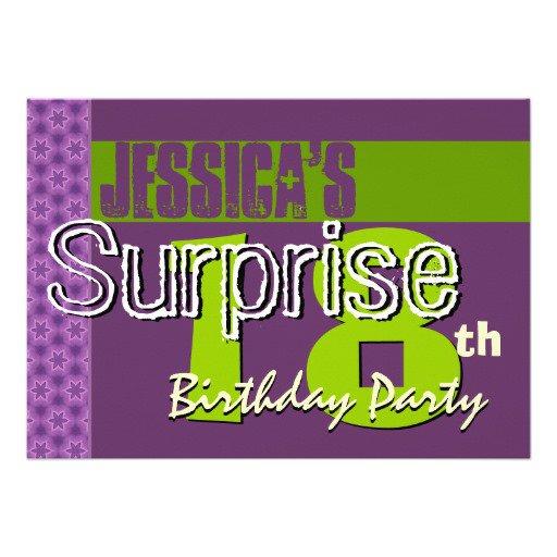 18th Birthday Vip Pass Invitations