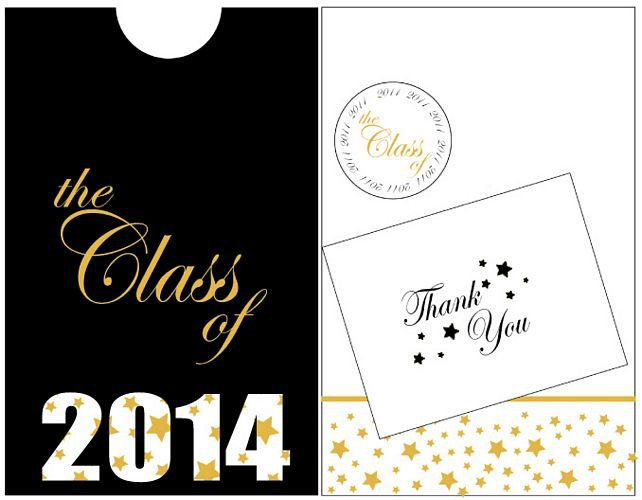 2014 Graduation Invitations Templates