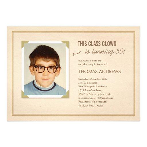 40th Birthday Invitation Samples