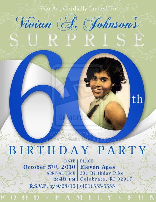 60th Birthday Ideas For Fun
