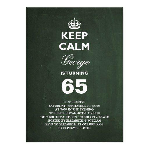 65 Birthday Invitation Wording – 29th Birthday Invitation Wording