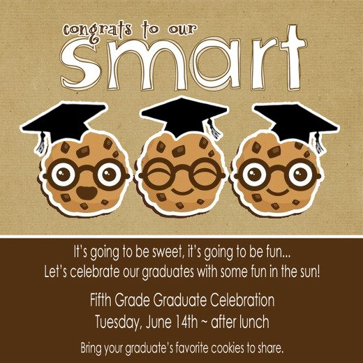Grade Graduation Invitation Ideas – 8th Grade Graduation Invitations