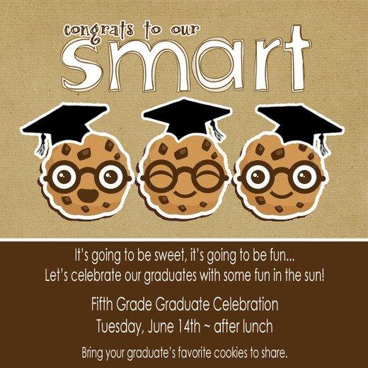 8th Grade Graduation Invitation Ideas