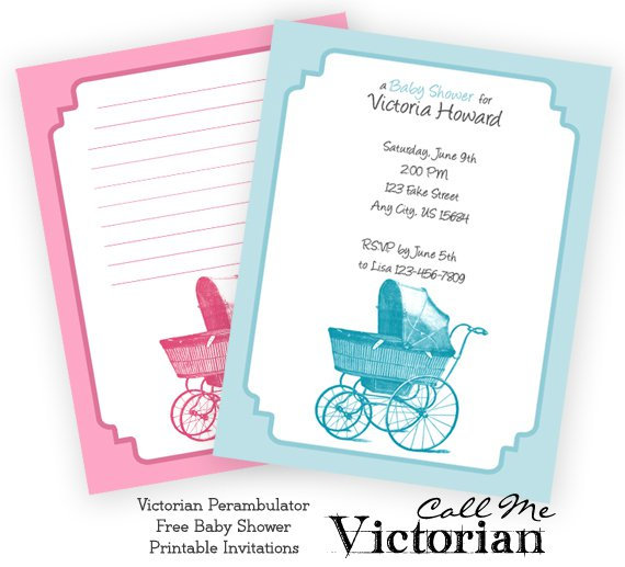 African American Baby Shower Invitations Free Printables
