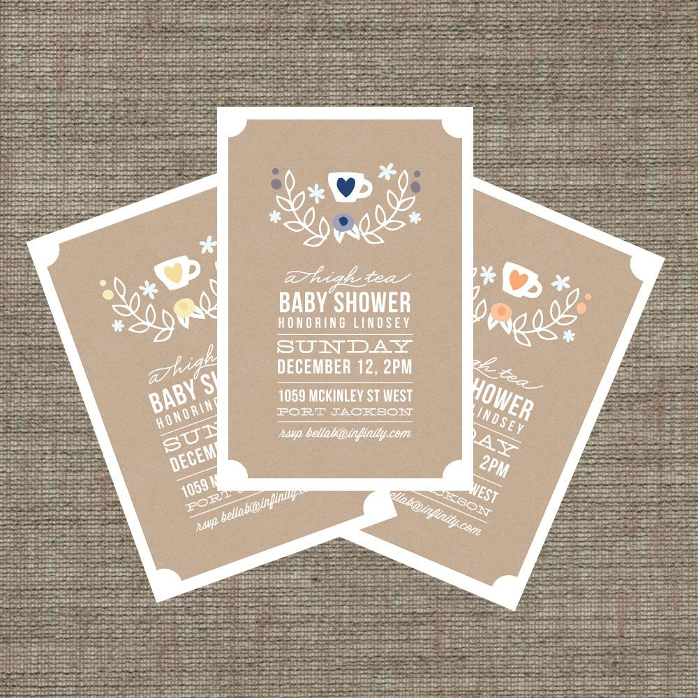 Tea Party Invitation Wording – Tea Party Invitation Wording