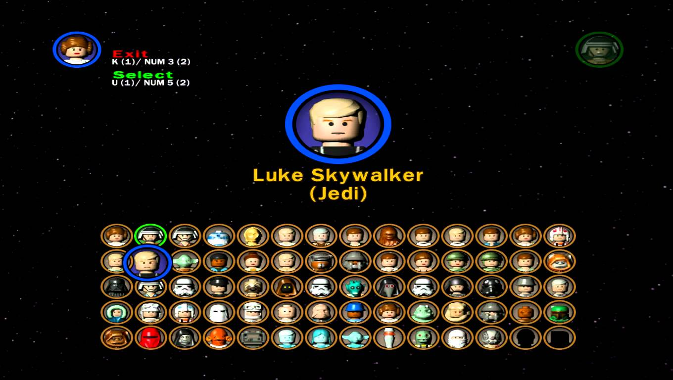 All Characters From Star Wars