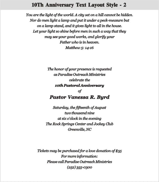 Anniversary Invitation Wording In Hindi