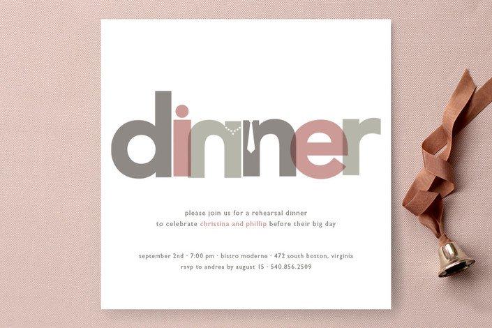 Awards Dinner Invitation Wording