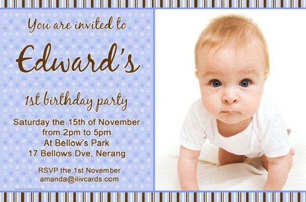 Boys Birthday Invitation Card Templates