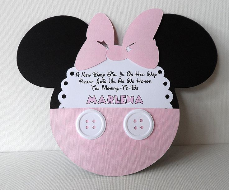 baby minnie mouse invitations template Josemulinohouseco