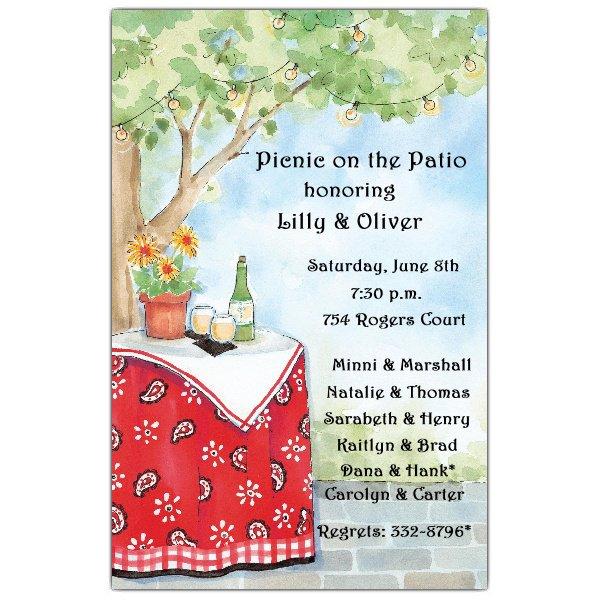 Backyard Bbq Invitations Free