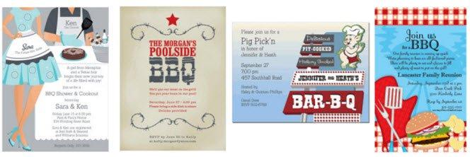 Bbq Engagement Party Invitation Wording
