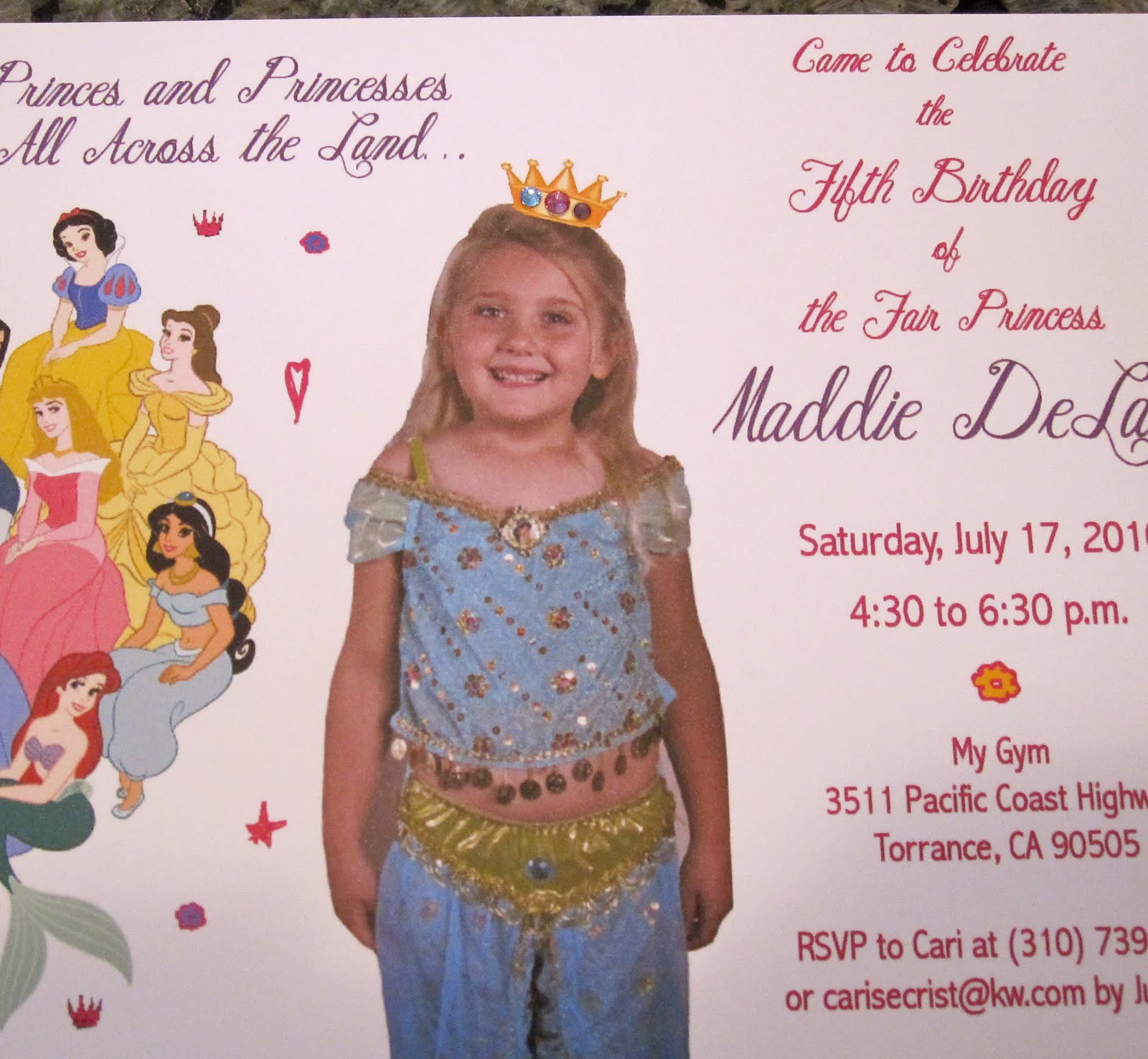 Birthday Invitation Sayings For 5 Year Olds
